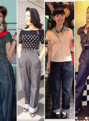 Ladies Denim Ranch Pants【SVY-LPT012S】 / Savoy Clothing