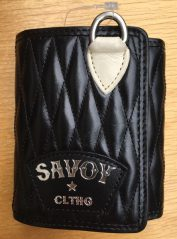 Quilting Short Wallet(三つ折り)【SVY-WLT014】 / Savoy Clothing