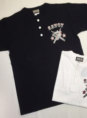 Savoy Panther Henley nec Tee【SVY-T256】 / Savoy Clothing